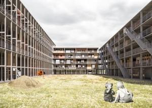 on Königsberger und Aleppoer Weg © BeL Sozietät für Architektur, Köln