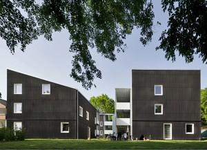Wohnungen für Flüchtlinge Ostfildern © u3ba Arge camilo hernandez, urban 3 + Harald Baumann, baumannarchitects, Stuttgart