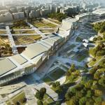 Peter Eisenman & Aytac Architects, Yenikapi Project, Entwurf, Istanbul 2014, Abb: Eisenman Architects