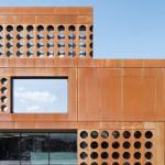 Schlicht Lamprecht Architekten, Rohstoffhandel Lesch, Schweinfurt 2013–2015, Foto: Stefan Meyer