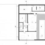 Schlicht Lamprecht Architekten, Rohstoffhandel Lesch, Schweinfurt 2013–2015, Grundriss 1. OG
