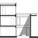 Schlicht Lamprecht Architekten, Rohstoffhandel Lesch, Schweinfurt 2013–2015, Schnitt BB