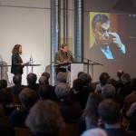 Annette Rudolph-Cleff und Andreas Denk bei der Einfürhung zum 21. Berliner Gespräch des BDA, Foto: Till Budde