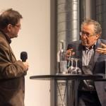 Andreas Denk (links) und Alberto Pérez-Gómez, Foto: Till Budde
