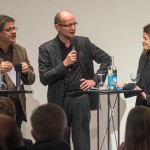 Andreas Denk, Heiner Farwick und Annette Rudolph-Cleff (v.l.n.r.), Foto: Till Budde