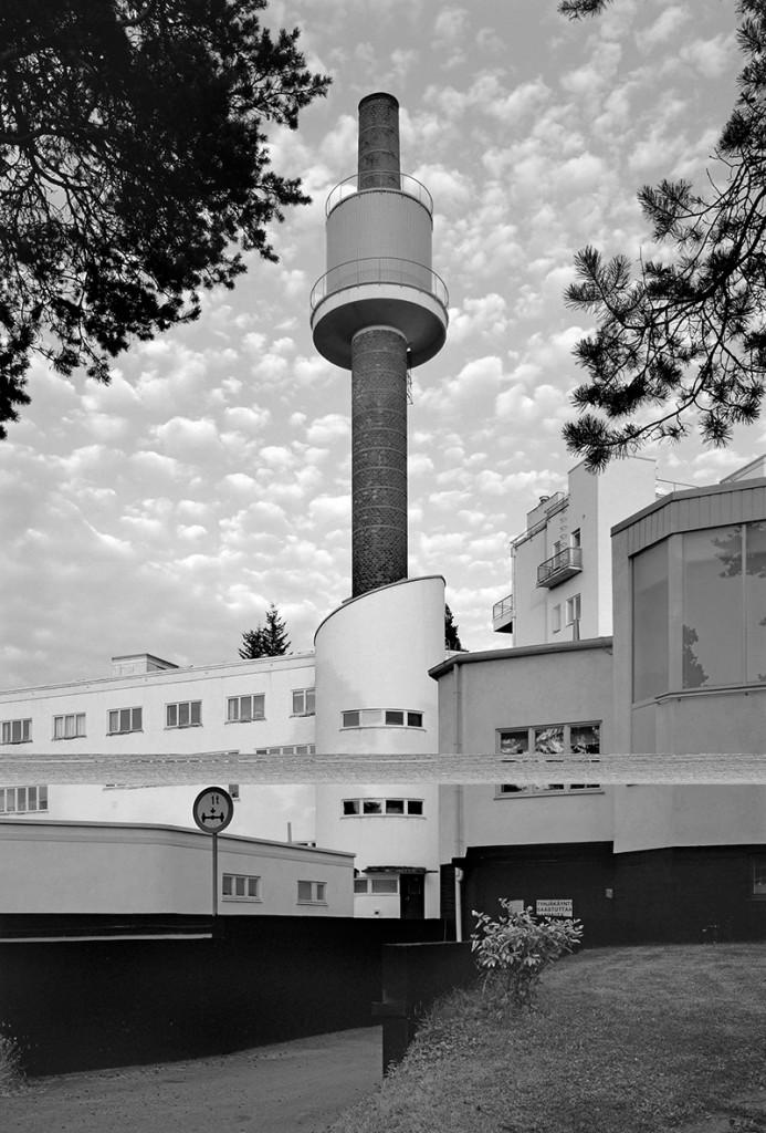 Klaus Kinold: Alvar Aalto, Sanatorium, Paimio, Finnland, Foto 1994