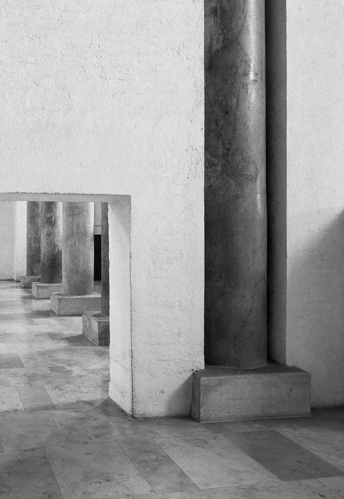 Klaus Kinold: Hans Döllgast, Wiederaufbau der Abtei St. Bonifaz, München, Foto 1987
