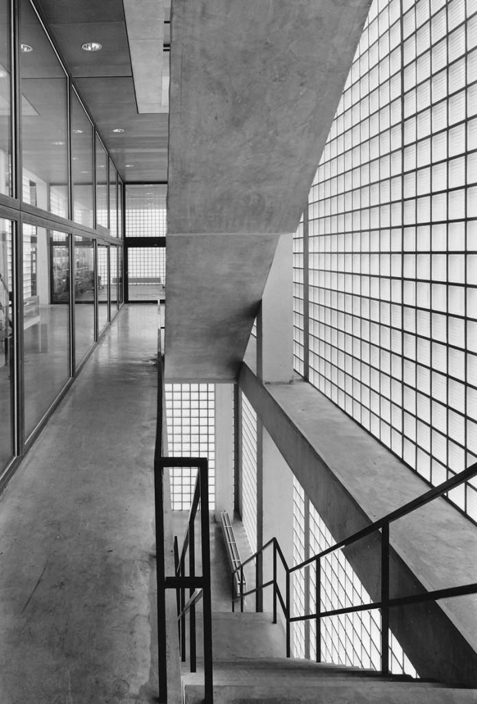 Klaus Kinold: Wiel Arets, Erweiterung der Kunstakademie Maastricht, Niederlande, Foto 1994