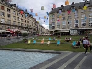 Juan Roig, Place Gambetta, Amiens, Zustand Sommer 2016, Foto: Andreas Denk