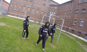 Calisthenics in der JVA Bremen, Foto: Hood Training