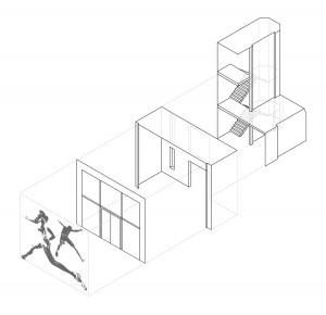 Studio Yonder, Sportclub Quest, Kolbermoor 2012, Abb.: Yonder