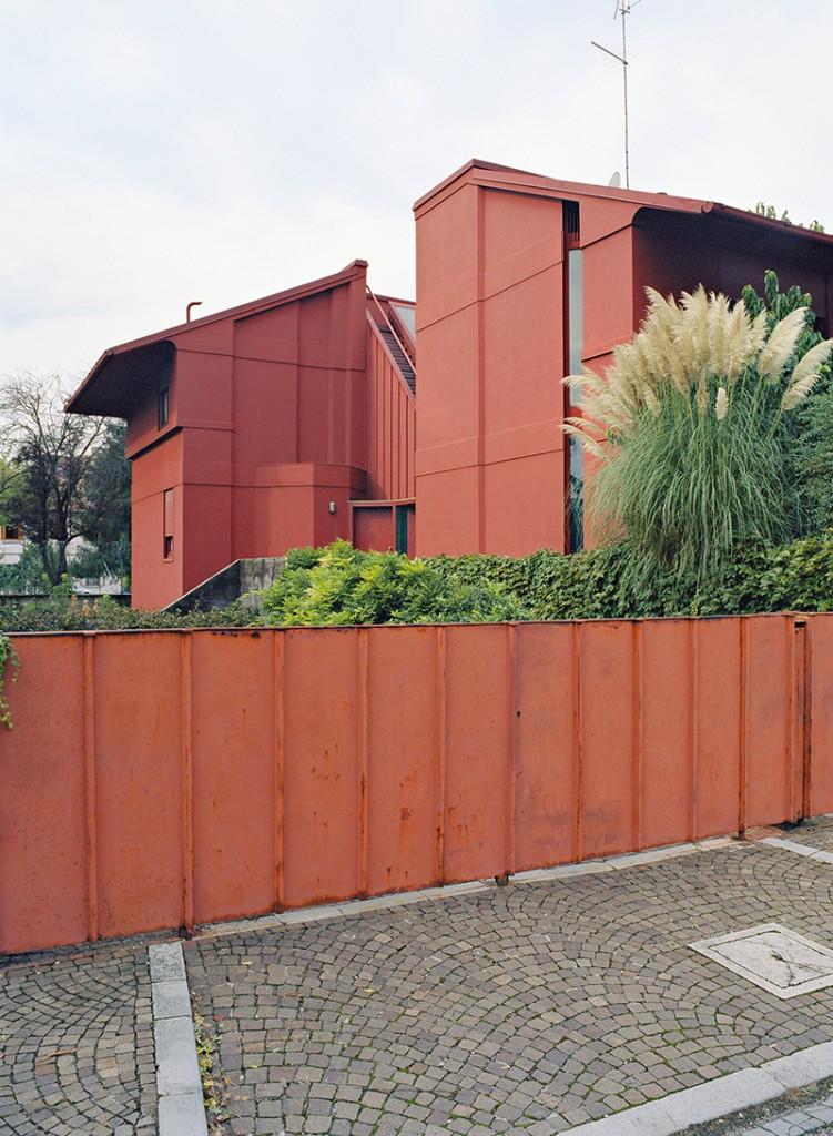 1965–66. Gino Valle. Casa rossa, Udine