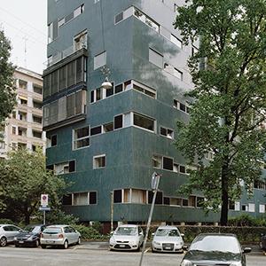 1955–57. Luigi Caccia Dominioni. Wohnhaus, Mailand