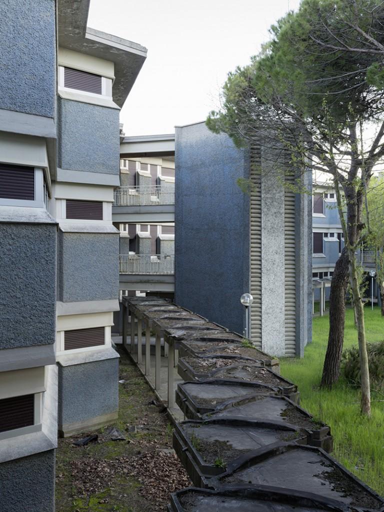 1961–66. Paolo Portoghesi, Eugenio Abruzzini. Colonia Enpas, Cesenatico