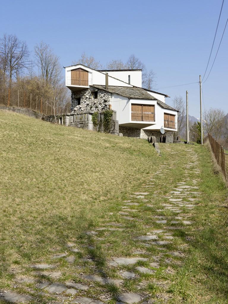 1964–65. Giuseppe Pizzigoni. Casa Nani, Parre