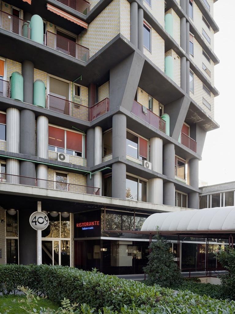 1970–74. Sergio Jaretti, Elio Luzi. Torre Mirafiori, Turin