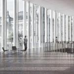 Markus Schietsch Architekten mit Lorenz Eugster Landschaftsarchitektur&Städtebau, Besucher- und Informationszentrum Deutscher Bundestag, Innenraum, Abb: Markus Schietsch Architekten
