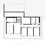 Reichel Schlaier Architekten BDA, Einfamilienhaus, Stuttgart-Feuerbach 2014-2016, Grundriss Ebene -1, Abb.: Reichel Schlaier Architekten