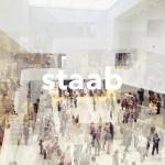 Staab Architekten. Verwandte Unikate, Texte von Florian Heilmeyer und Staab Architekten, 352 S., 500 Abb., gebunden in Leinen, Hatje Cantz Verlag, Berlin 2016, 68,– Euro, ISBN 978-3-7757-4204-7