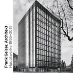 Konrad Tobler: Frank Geiser. Architekt – Hauptwerke 1955–2015, 208 S., 1 farbige und 117 Duplex-Abbildungen, 18 Pläne, gebunden, 68,– Euro, Park Books, Zürich 2016, ISBN 978-3-906027-91-3