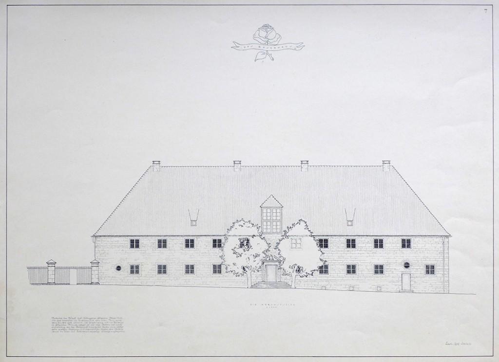 Das Rosenhaus der Stuttgarter Schule, (c) Karl Erich Loebell, Sammlung Deutsches Architekturmuseum, Frankfurt am Main