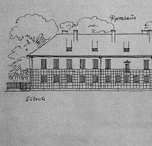 Das Rosenhaus von Theodor Fischer, (c) Theodor Fischer, Sammlung Architekturmuseum der TU München_web_teaser
