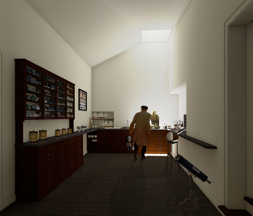 Das Rosenhaus Zimmer der Naturwissenschaften (c) FHNW, Institut Architektur, Sylvain Villard