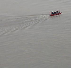 Hochwasserkatastrophe, Luftaufnahmen aus dem Raum Wachau, Niederösterreich. 04.06.2013, Foto: Dragan Tatic