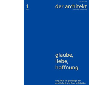 der architekt 2017-1_Cover