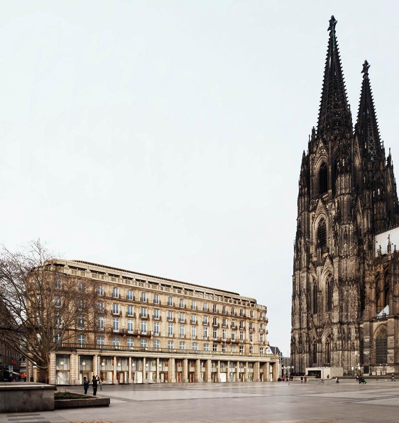 Bartscher Architekten BDA, Domhotel, Wettbewerb, Köln 2014