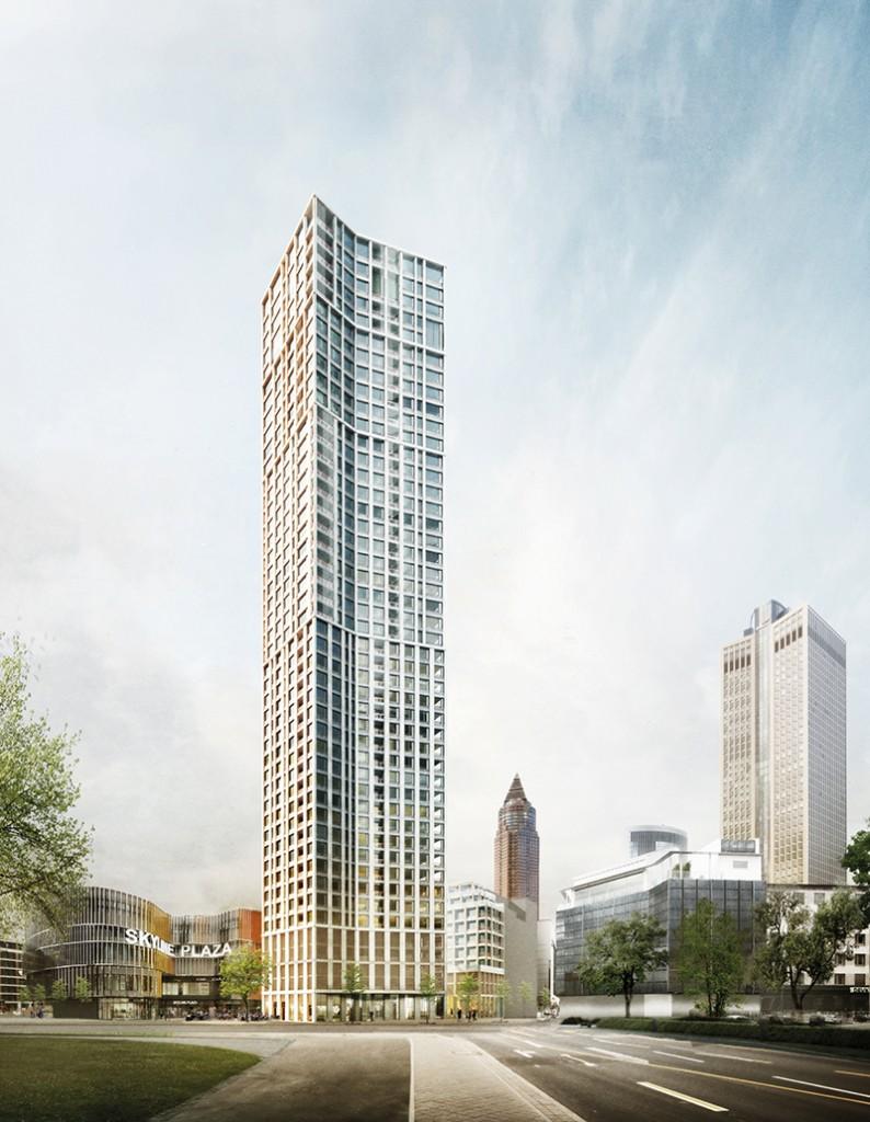 Bartscher Architekten BDA in Planergemeinschaft mit ASTOC und Lorber Paul Architekten, Tower 2, Frankfurt/Main 2014, Abb.: Bartscher