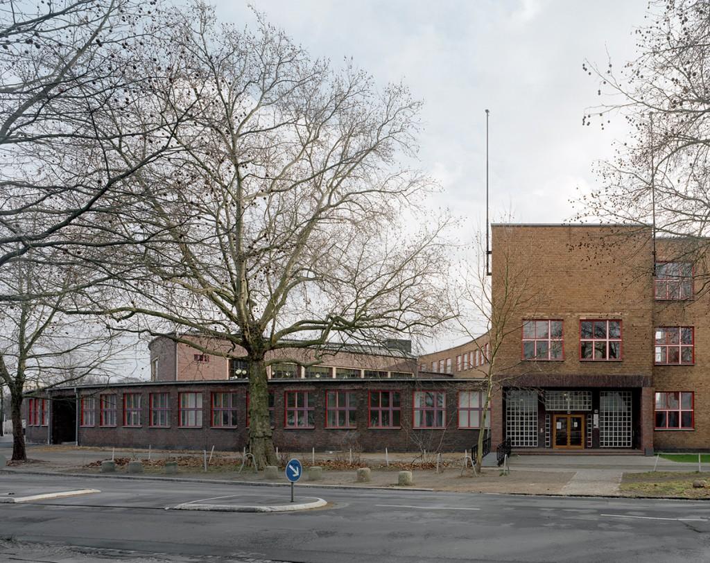 Max Taut, Max-Taut-Schule, Berlin-Lichtenberg, 1927-32, Foto: Stefan Müller