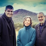 RCR Arquitectes: Rafael Aranda, Carme Pigem und Ramon Vilalta,  Foto: Javier Lorenzo Domínguez
