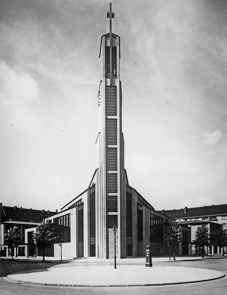 Otto Bartning Gustav-Adolf-Kirche, Berlin, 1934 Foto: Emil Leitner © Otto-Bartning-Archiv TU Darmstadt