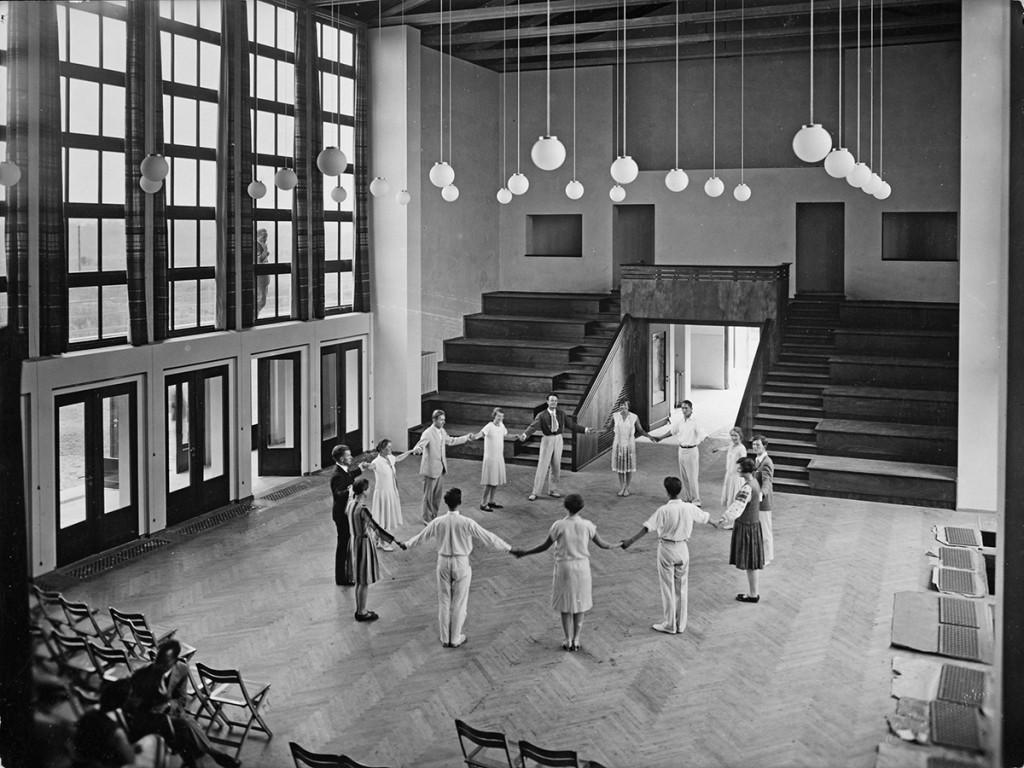 Otto Bartning Musikheim, Haupthalle, Frankfurt/Oder, 1929 Fotograf unbekannt © Atelier Leopold Haase & Co.