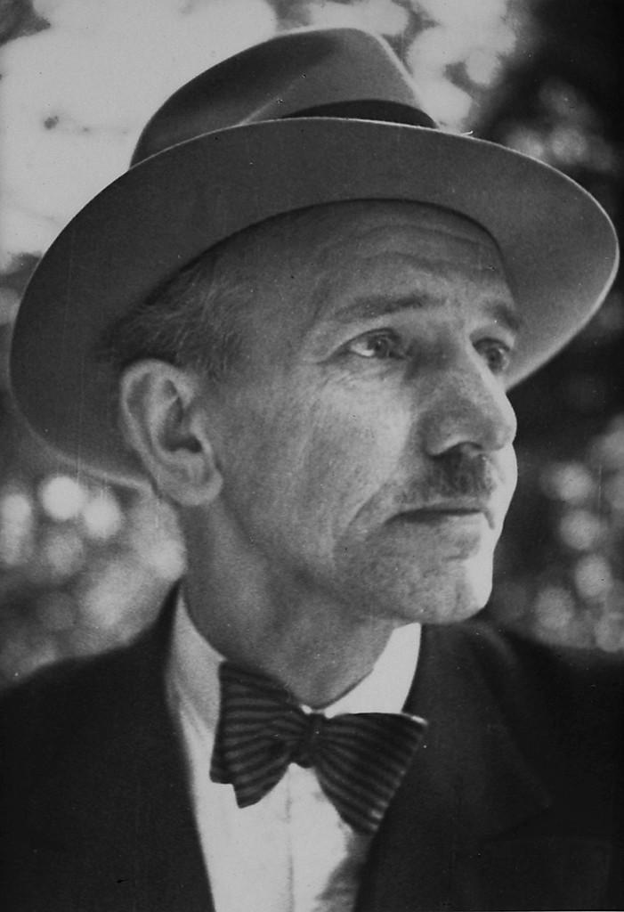 Porträt Otto Bartning, um 1930 Fotograf unbekannt © Otto-Bartning-Archiv TU Darmstadt