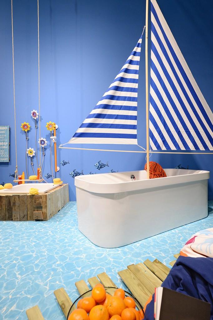 ISH Messe Frankfurt 2015, Pop up my Bathroom
