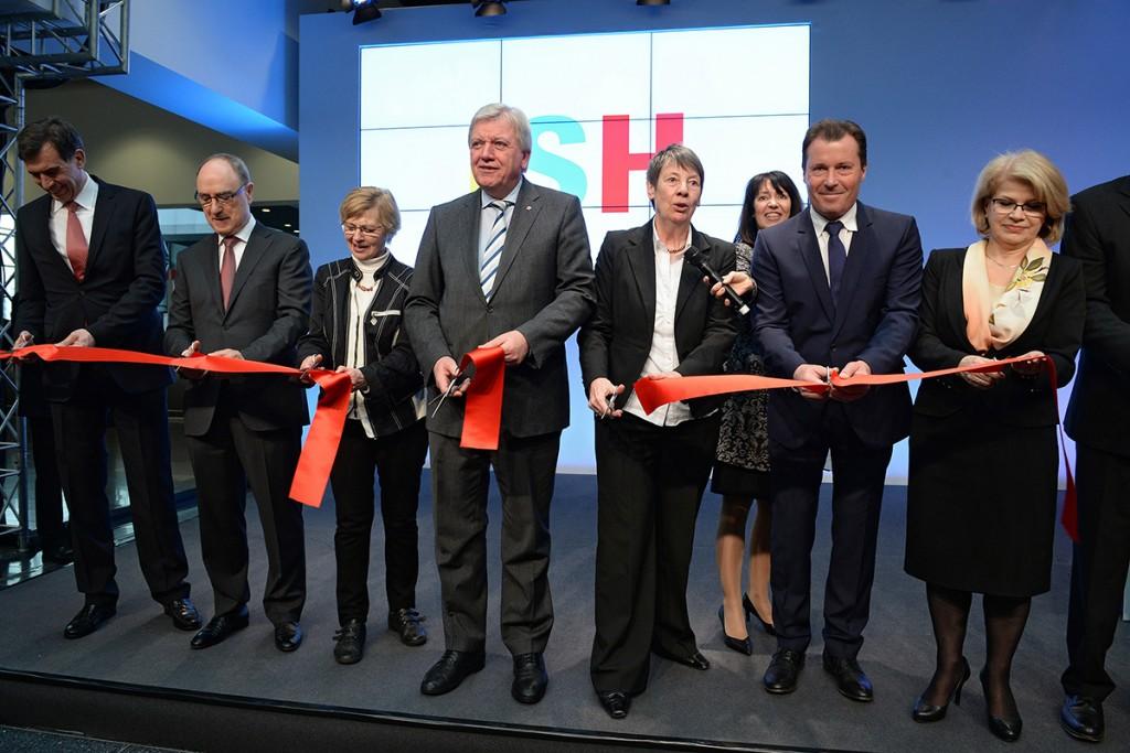 ISH Messe Frankfurt 2015, Eröffnung