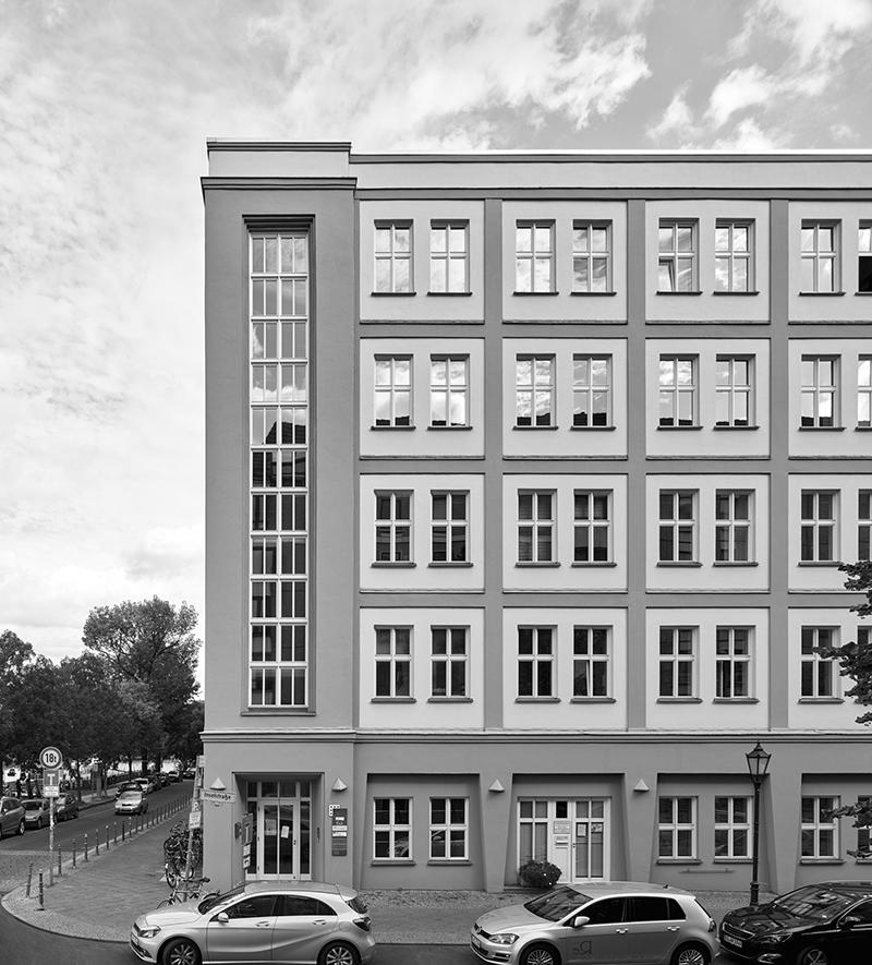 Max Taut, Haus des Allgemeinen Deutschen Gewerkschaftsbundes, Berlin, 1921-23; Foto:Stefan Müller