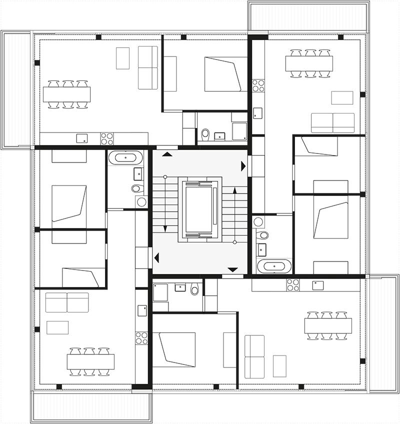 zanderroth li01 grundriss 2 4 6 abb zanderroth bda der architekt. Black Bedroom Furniture Sets. Home Design Ideas