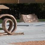 """Skulpturenpark """"MQ Amore"""" am MQ Vorplatz, Detail, Foto: Lorenz Seidler"""