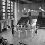 Otto Bartning, Musikheim, Haupthalle, Frankfurt/Oder, 1929, Fotograf unbekannt (© Atelier Leopold Haase & Co)