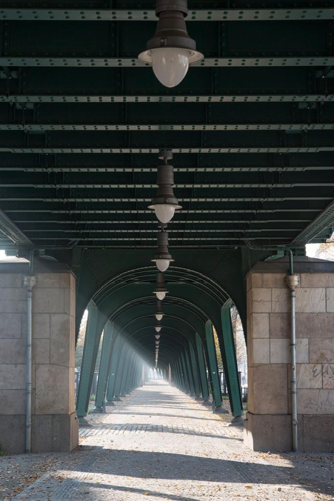 Thilo Mokros, U-Bahn U2 Viadukt, Schönhauser Allee, Eberswalder Straße