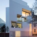 Atelier Zafari, Wohnen an der Stadtmauer, Berlin 2012–2014, Foto: Werner Huthmacher
