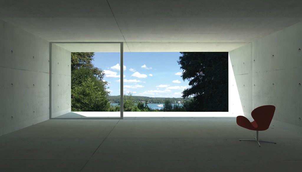 Atelier Zafari, X House, Entwurf, Bad Saarow 2015, Schnitt, Abb.: Zafari