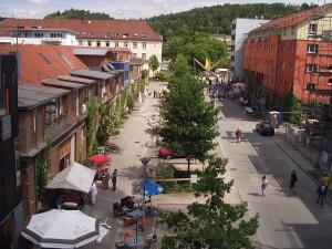 Französisches Viertel, Tübingen 1992–2008, Foto: Stadtsanierungsamt Tübingen