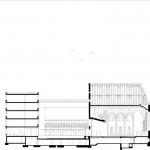 Lederer Ragnarsdóttir Oei Architekten, Sanierung der Hospitalkirche, Stuttgart 2009–2017, Ansicht Südost