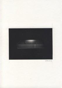 Uwe Schröder, Deathless Mies (Kubrick I), ColIage, 2017