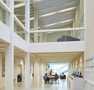 Florian Nagler Architekten und Hermann Kaufmann ZT GmbH, Schmuttertal - Gymnasium Diedorf