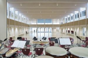 Schmuttertal - Gymnasium Diedorf, Florian Nagler Architekten und Hermann Kaufmann ZT GmbH, Foto: Stefan Müller-Naumann
